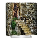 Abandon Hope Shower Curtain by Paul Ward