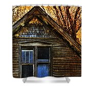 Abandoned Old House Shower Curtain by Jill Battaglia