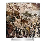 Abolition Of Slavery, 1794 Shower Curtain by Granger