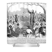 Abolition: Phillips, 1851 Shower Curtain by Granger
