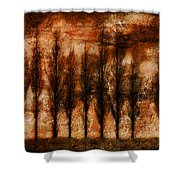 Absolution Shower Curtain by Brett Pfister