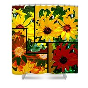 Abstract Fusion 99 Shower Curtain by Will Borden