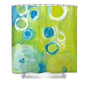 Abstract IIII Shower Curtain by Patricia Awapara
