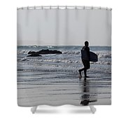 Acquaman Shower Curtain by Brian Roscorla