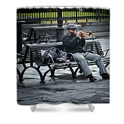 Afternoon Music Shower Curtain by Perry Webster