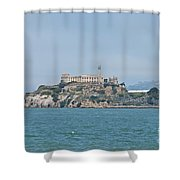 Alcatraz Island Shower Curtain by Cassie Marie Photography