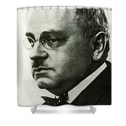 Alfred Adler, Austrian Psychologist Shower Curtain by Science Source