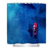 Alone 1 Shower Curtain by Anil Nene