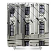 Alte Bibliothek Shower Curtain by RicardMN Photography