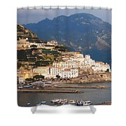 Amalfi Shower Curtain by Pat Cannon