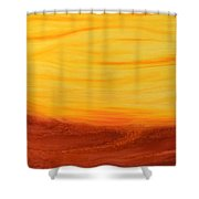Amoreena's Tree Shower Curtain by Mark Minier