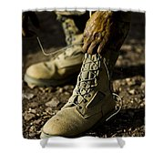 An Air Force Basic Military Training Shower Curtain by Stocktrek Images