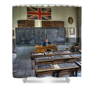 Another Brick In The Wall Shower Curtain by Bob Christopher