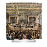 ANTI-SLAVERY CONVENTION Shower Curtain by Granger