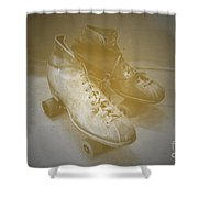 Antique Roller Skates Shower Curtain by Jost Houk