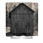 Appalachian Homestead Shower Curtain by John Stephens