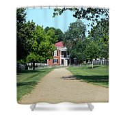 Appomattox County Court House 2 Shower Curtain by Teresa Mucha