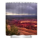 Approaching Storm  Shower Curtain by Robert Bales