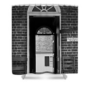 Arched Doors Appomattox Virginia Shower Curtain by Teresa Mucha