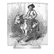 ARKANSAS TRAVELER, 1878 Shower Curtain by Granger