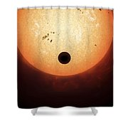 Artists Concept Of An Earth-sized Shower Curtain by Fahad Sulehria