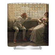 'As You Like It' Shower Curtain by Charles C Seton