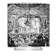 August Belmont (1816-1890) Shower Curtain by Granger