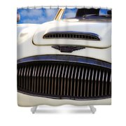 Austin Healey Shower Curtain by Bill Cannon
