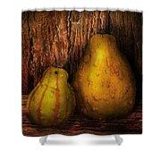 Autumn - Gourd - A Pair Of Squash  Shower Curtain by Mike Savad