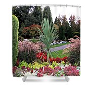 Autumn Gardens In Vancouver Shower Curtain by Will Borden