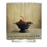 Autumn Shower Curtain by Priska Wettstein