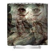 Awaken Your Mind Shower Curtain by Linda Sannuti