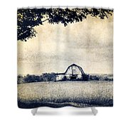 Back Roads Of Kentucky Shower Curtain by Darren Fisher