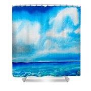 Bahamas Shower Curtain by Daniel Jean-Baptiste