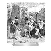 Baker, 1851 Shower Curtain by Granger