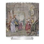 Ballroom, 1760 Shower Curtain by Granger