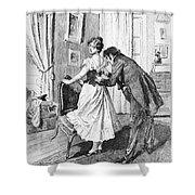 Balzac: Cousin Bette Shower Curtain by Granger
