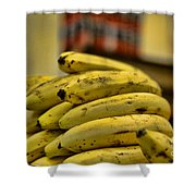 Bananas Shower Curtain by Paul Ward
