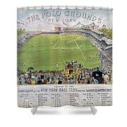 Baseball, 1887 Shower Curtain by Granger