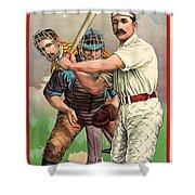 Baseball Player, C1895 Shower Curtain by Granger