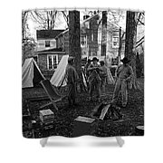Battle Done Shower Curtain by Paul Mashburn