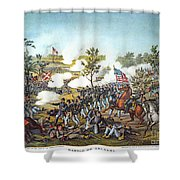 Battle Of Atlanta, 1864 Shower Curtain by Granger
