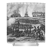 Battle Of Chapultepec Shower Curtain by Granger