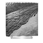Beach Patterns Shower Curtain by Lauri Novak