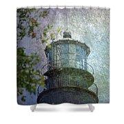 Beacon Of Hope Shower Curtain by Judy Hall-Folde