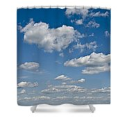 Beautiful Skies Shower Curtain by Bill Cannon