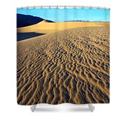 Beauty Of Death Valley Shower Curtain by Bob Christopher