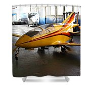 Bede 5 . BD5-B . Kit Airplane Using Honda and Mazda Engines . 7D11166 Shower Curtain by Wingsdomain Art and Photography