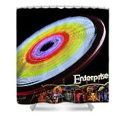 Beem Me Up Scotty Shower Curtain by David Lee Thompson