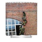 Belgian Paratroopers Rappelling Shower Curtain by Luc De Jaeger